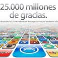 25.000 millones de descargas AppStore