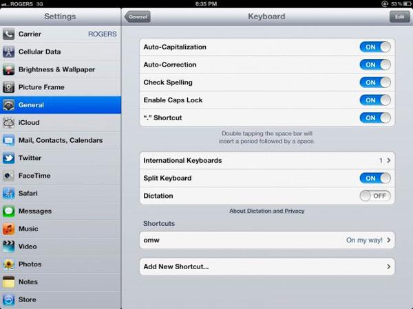 Así se activa la función Dictado del nuevo iPad