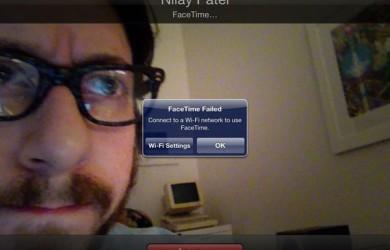 FaceTime a través de LTE no permitido
