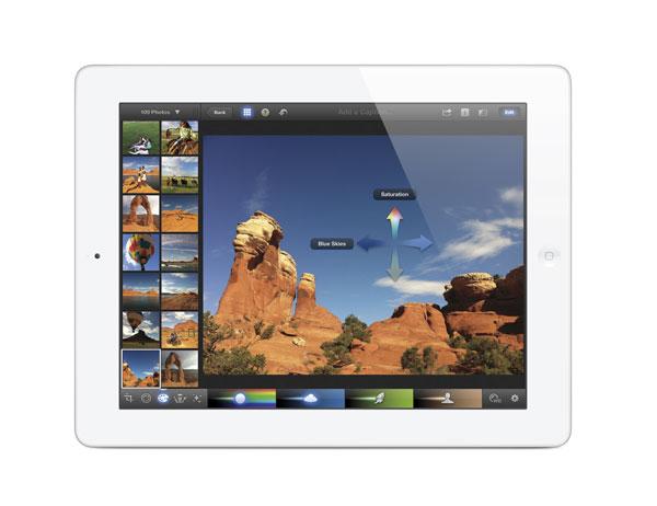 iPhoto en el nuevo iPad