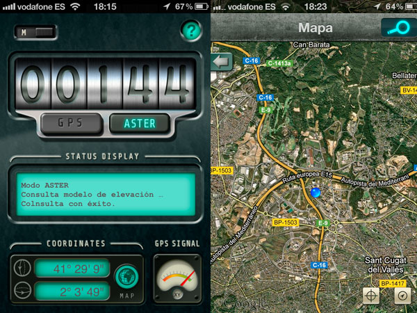 Altimeter iPhone