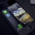 Concepto de desbloqueo en iPhone