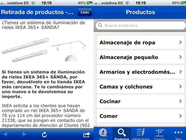Ikea presenta su aplicación para iPhone