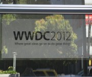 Cartel WWDC 2012 en Moscone Center