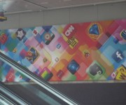 Aplicaciones iOS en cartel WWDC 2012