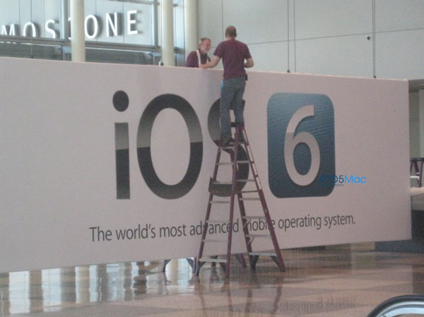 iOS 6 en el Moscone Center
