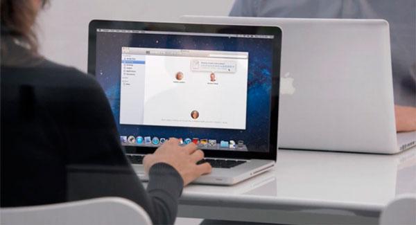 Compartir archivos entre dos Macs