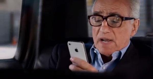 Martin Scorsese protagoniza el nuevo anuncio del iPhone