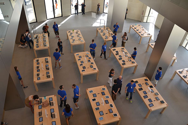 Planta Baja de la nueva Apple Store de Barcelona