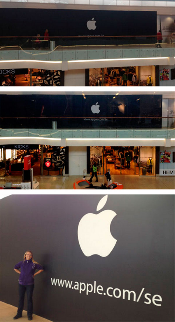 Futura Apple Store de Estocolmo