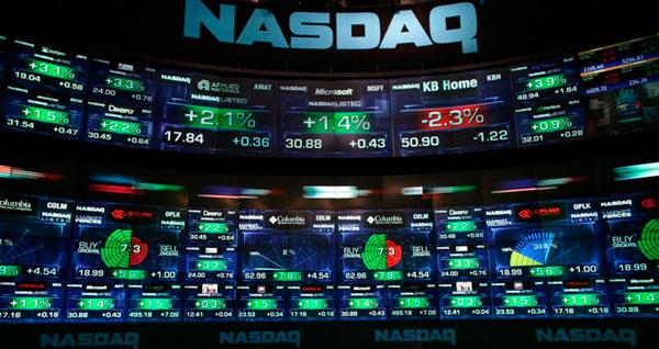 Valores NASDAQ en Bolsa