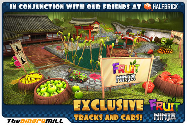 Mini Motor Racing Fruit Ninja