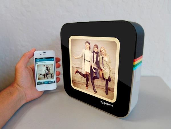 Instacube, marco de fotos digital con Instagram