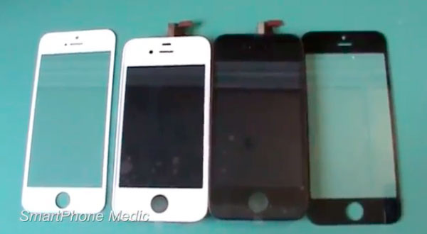 Componentes del posible iPhone 5