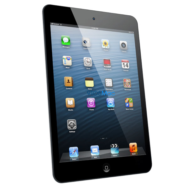 Render de un iPad Mini