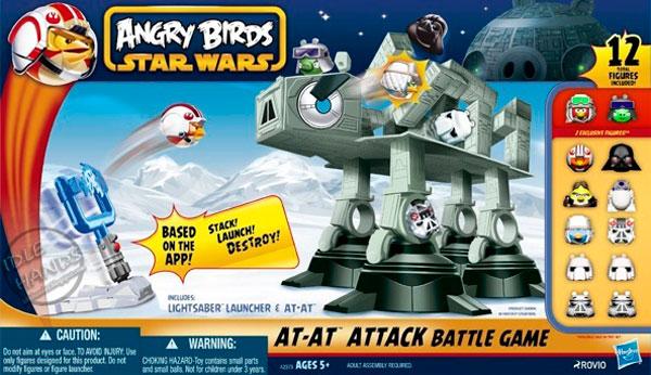Angry Birds AT-AT Attack
