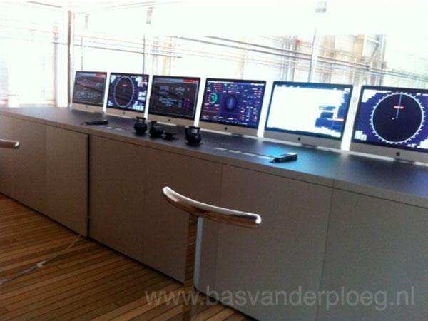 iMac en el barco de Steve Jobs