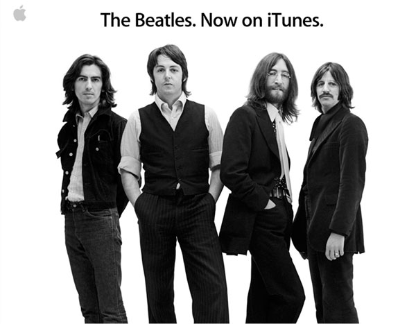Los Beatles en iTunes