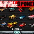 Oponentes en Carmageddon para iOS
