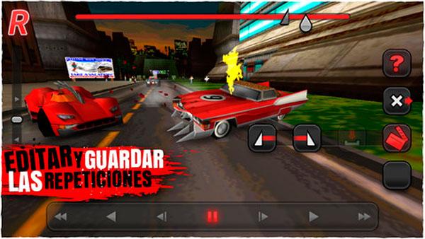 Repeticiones en Carmageddon para iOS