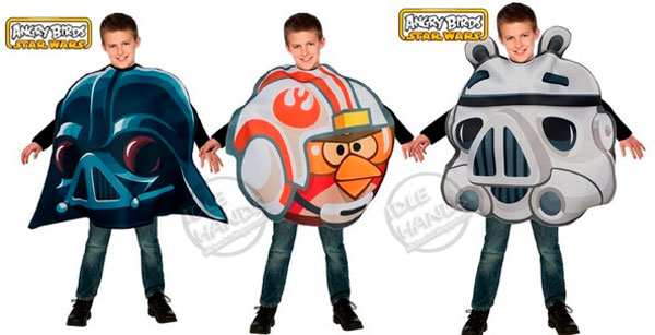Disfraces Angry Birds Star Wars