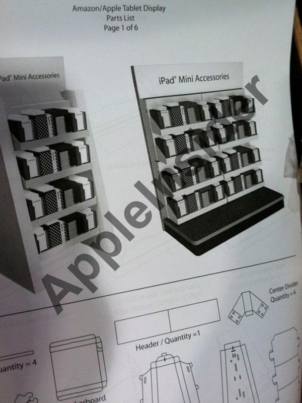 Estanterías para el iPad Mini
