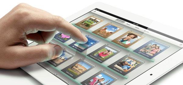 iPad 3 blanco