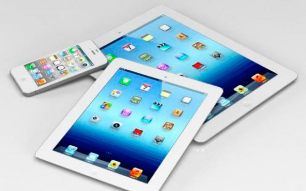 iPad Mini, iPad e iPhone