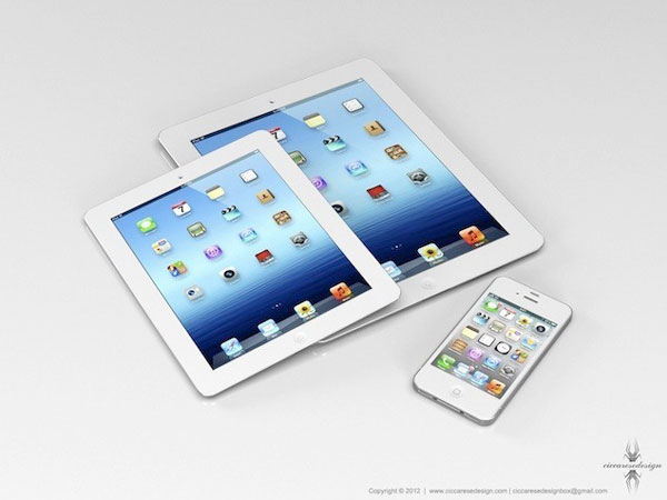 iPad Mini, iPhone 5 y iPad