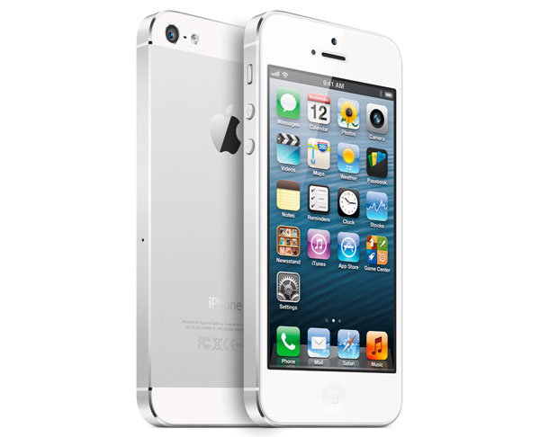 iPhone 5 blanco