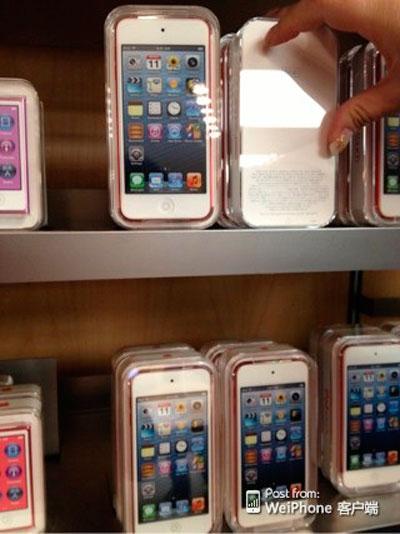iPod Touch quinta generación estanteria