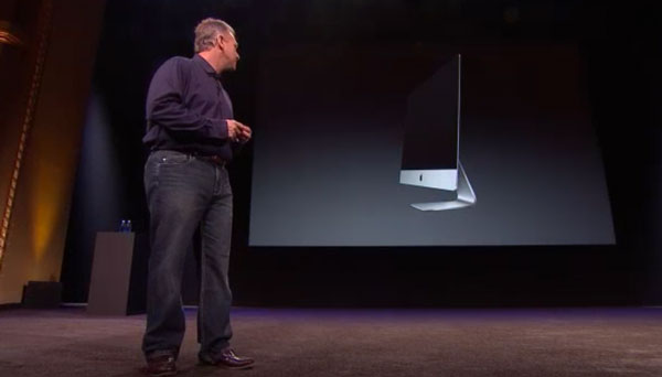 Phil Schiller presenta el nuevo iMac