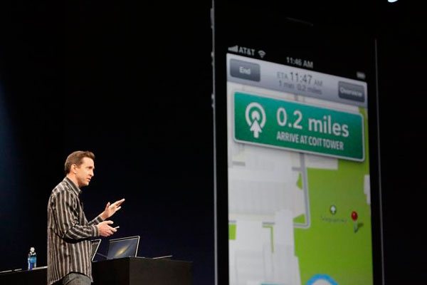 Scott Forstall Apple Maps
