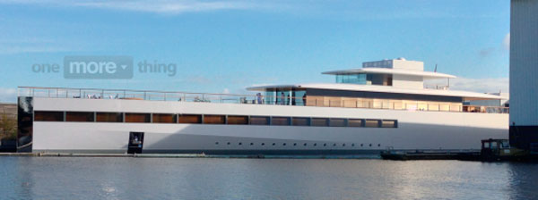 Venus, el barco de Steve Jobs