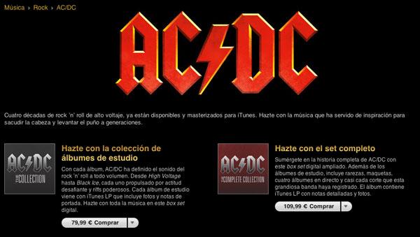 AC/DC llega a iTunes