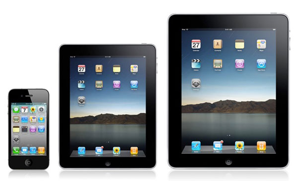 iPad, iPad Mini y iPhone