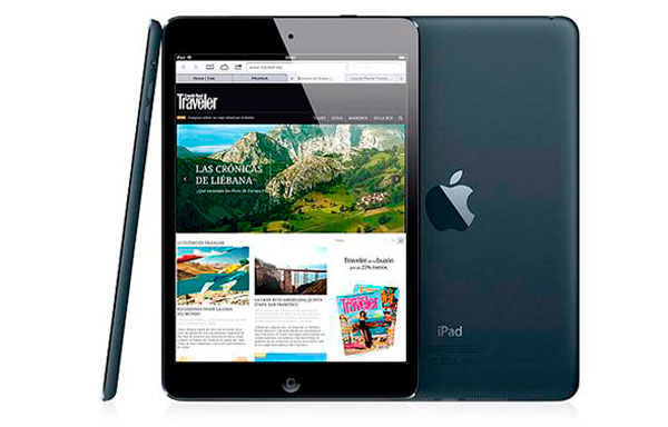 iPad Mini de color negro