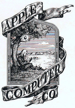Logo Apple 1976 original