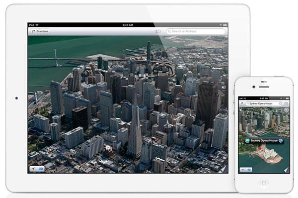 Mapas de iOS 6