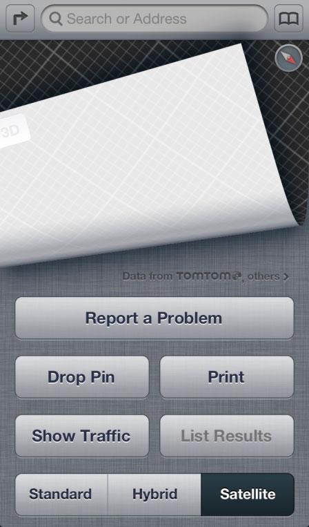 Nuevo botón reportar problema de Apple Maps