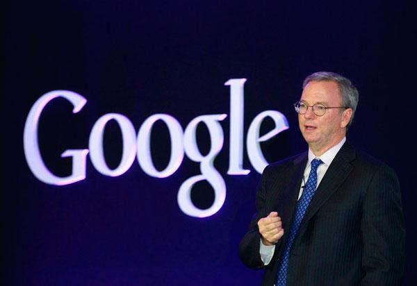Erich Schmidt de Google