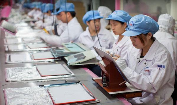 Fábrica de MacBook Pro