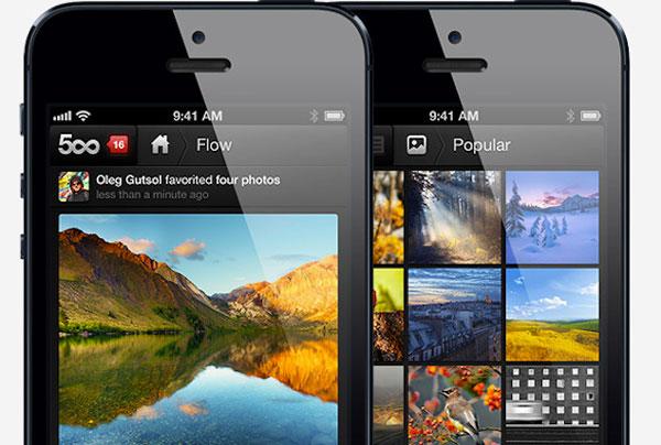App de 500px