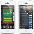 Concepto de menú rápido para iOS 7