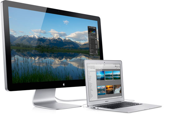 Thunderbolt Display con MacBook Air