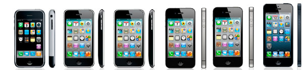 Evolucin iPhone