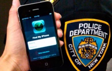 Policía Nueva york iPhone