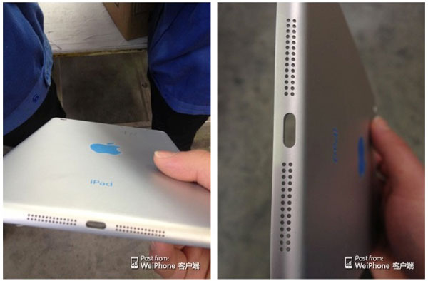 Posible carcasa trasera iPad mini 2