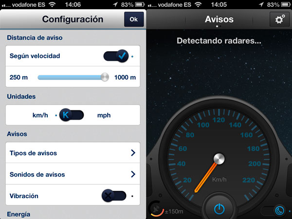 AvisaME - detector radares iPhone 2