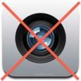 Desactivar cámara iOS